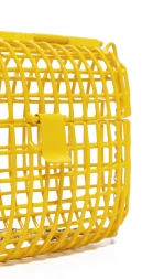 anndra neen cage bag yellow