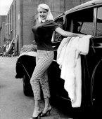 bullet-bra-fashion-vintage-side of the car