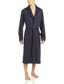 Hanro Men's Jersey Knit Robe