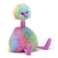 Jellycat rainbow pompon