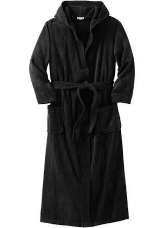 Kingsize Terry Velour Hooded Maxi Robe Men's