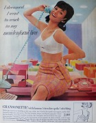 maidenform 1964 ad for vintage bra