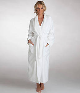 Monarch Cypress Waffle Terry-lined Robe