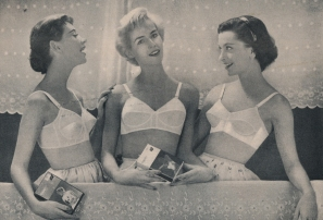 vintage bras 3 girls
