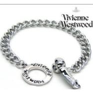 Vivienne Westwood Silver Penis Drop Bracelet with Box