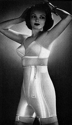white satin -vintage-girdle-vintage-underwear