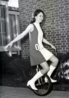 Go Go Girl on a Unicycle