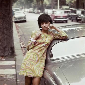 James Barnor - Go Go Dress by car