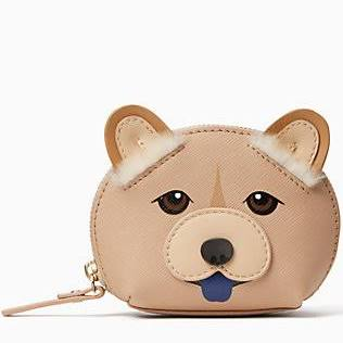 Kate Spade Year of the Dog Dumpling Coin Purse