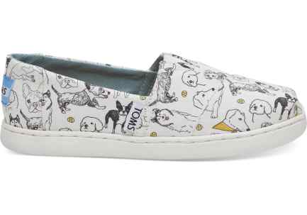 TOMS Exclusive product Year of the Dog Slip-ons