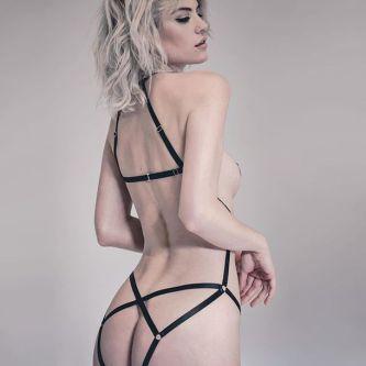 underwear-lingerie--open-fashion-style-hot-strappy-women-black- playsuit