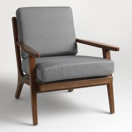 World Market Chair: Vintage