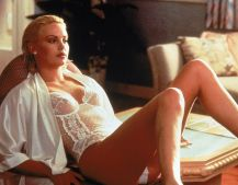 Charlize Theron slips into white lingerie in 1996 film 2 Days in the Valley