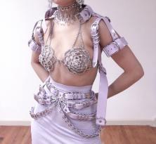 Creepyyeha Lavender crystal
