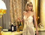 Michelle Pfeiffer's satin slip in 1983 movie Scarface