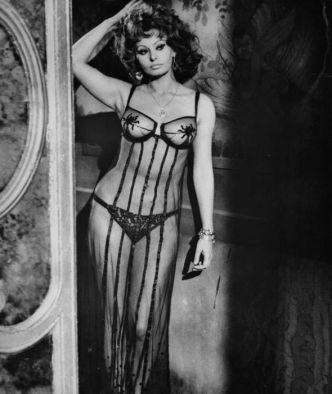 Sophia Loren in 1964 film Marriage Italian Style