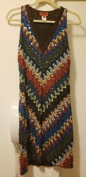 Missoni Knit Sequin Dress