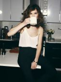 coffee camisole