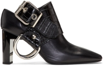 Buckle D-ring Slingback Heels