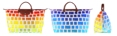 Jeremy Scott Longchamp keyboard bag
