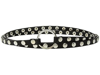 McQ Studded O-ring double wrap belt $280