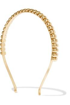 Rosantica Gold tone headband $275