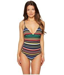 Stella McCartney one-piece striped swimsuit $245