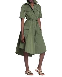 Tracy Reese Military Shirt Dress