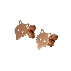Wolf Stud Earrings Ginette NY $300