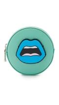 Yazbukey blue lips cest ahh coin-purse