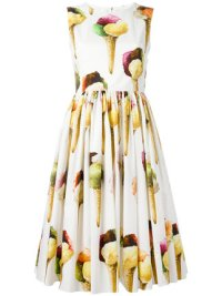 Dolce and Gabbana Ice Cream Dress