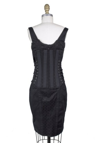 Dolce and Gabbana Corset Bondage Dress Decades 2