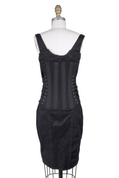 Dolce and Gabbana Corset Bondage Dress Decades 2