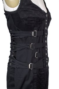 Dolce and Gabbana Corset Bondage Dress Decades 3