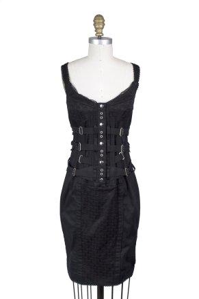 Dolce and Gabbana Corset Bondage Dress Decades