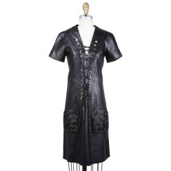 Jean Paul Gaultier Lace-up front dress Decades