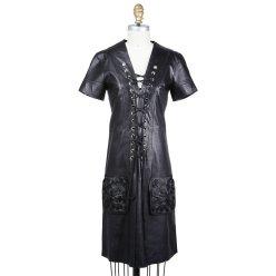 Jean Paul Gaultier Lace-up front dress Decades
