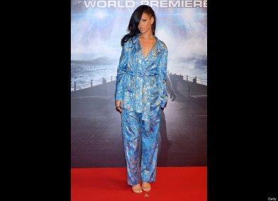 Rihanna pajamas as fashion