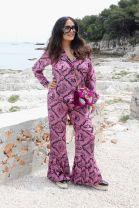 Selma Hayek gettyimages pajamas