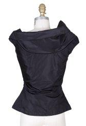 Vivienne Westwood Assymetrical Vest Black Decades Two black