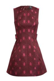 beetle-juice-insect-fashion-mcq-red-dress