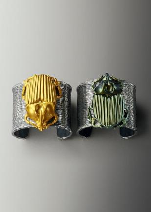 Bottega Veneta scarab jewelry beetle