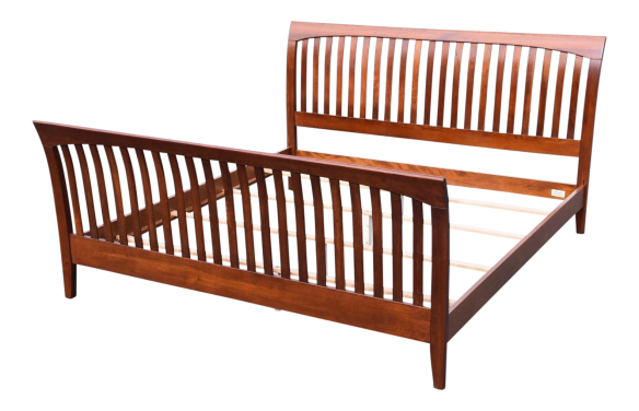 ethan-allen-solid-cherry-king-bed-9471