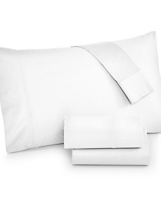 Hotel Collection 525 100% Cotton white sheets