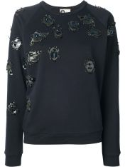 Lanvin Beetle Sweater black
