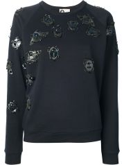Lanvin Beetle Sweater black