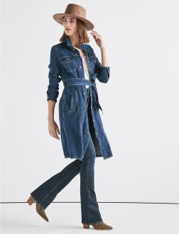 Lucky Brand Trucker Dress