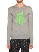 Markus Lupfer Scarab Beetle Sweater Neon