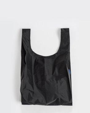 Baggu Black Leather Tote