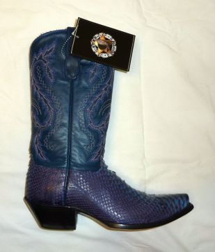 Star Boots Cowboy Blue